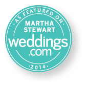 Featured in Martha Stewart Weddings