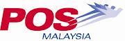 Penghantaran hanya menggunakan khidmat Pos Malaysia sahaja.