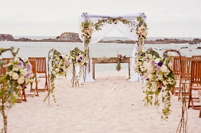 Insp rate en lila y morado para decorar como esta - Bodas sencillas y romanticas ...