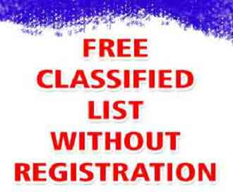 Free Classified Websites List Without Registration 2013 photo