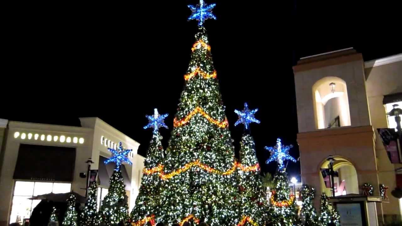 Wiregrass Mall Christmas Light Show