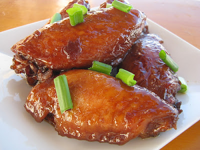ORIENTAL CHICKEN WINGS, chicken recipes at Sri Lankan Food recipe, make your own tasty dishes of Asian foods