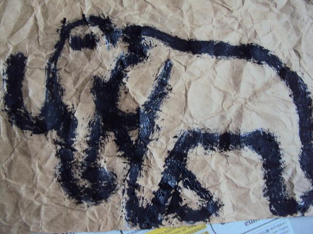 escola municipal de ensino fundamental 25 de julho arte rupreste
