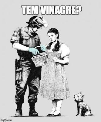 Todos unidos pela legalização do vinagre