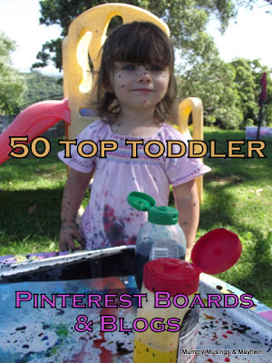Mummy Musings and Mayhem-50 Favourite Toddler Boards and Blogs