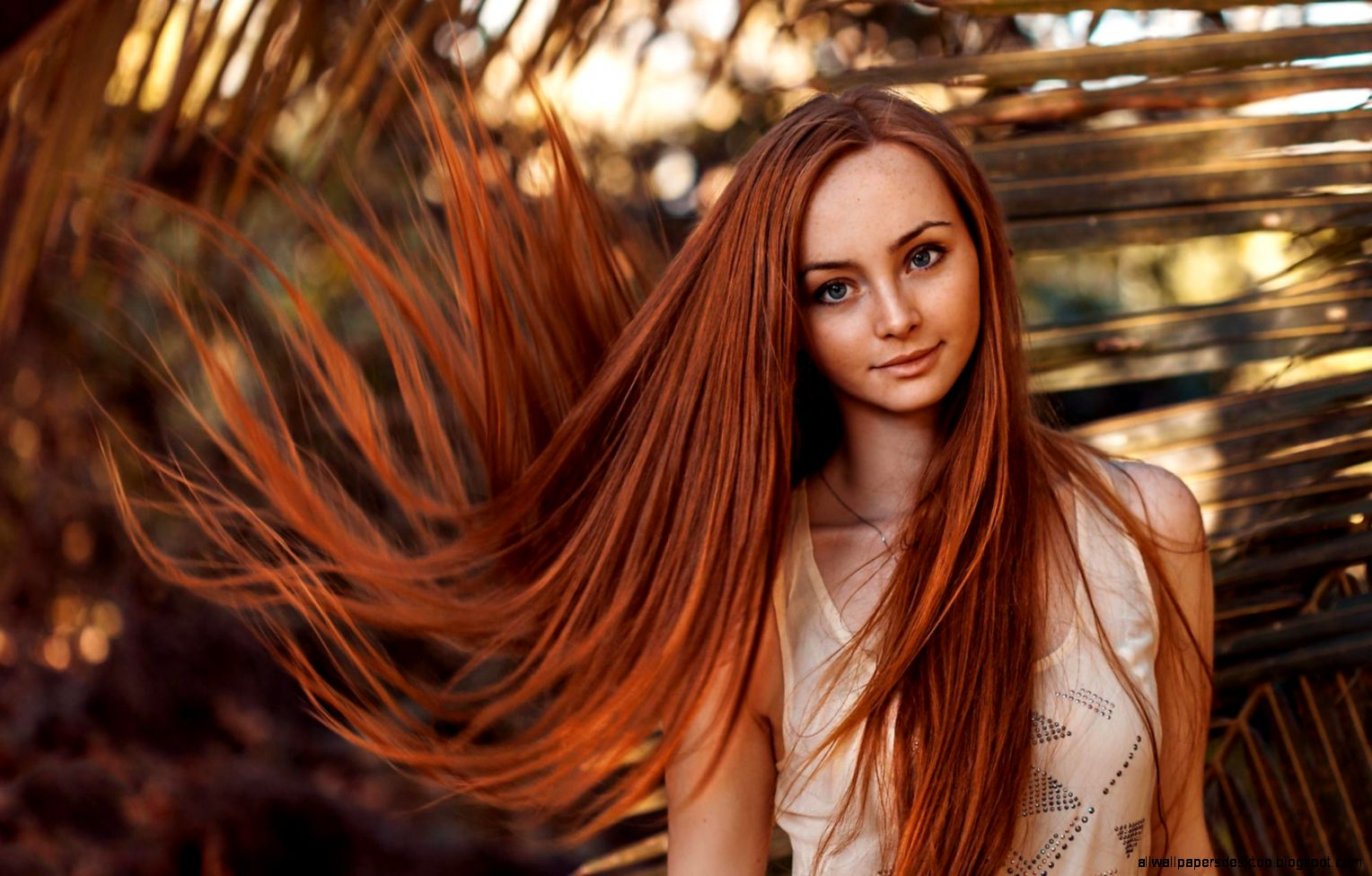 Redhead Girl Tattoos Freckles Photo 6944832