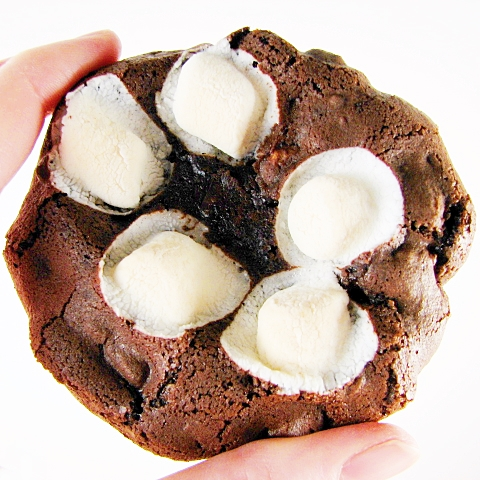 Mini Rocky Road Cookies Recipe — Dishmaps