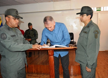 Coronel (GNB) Heli Saúl Infante recibió el mando de Polimerida