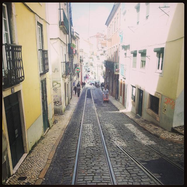 Tram #28 Lisbon Portugal