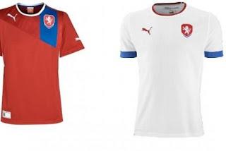 Kostum Republik Ceko Euro 2012