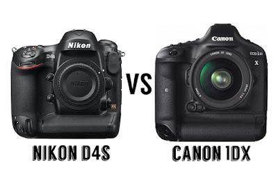 Canon EOS 1DX vs. Nikon D4S, Canon vs Nikon, Nikon vs Canon, Nikon D4S review, Canon 1DX review, Nikon D4S specs, Canon EOS 1DX specs, full-frame camera, professional camera