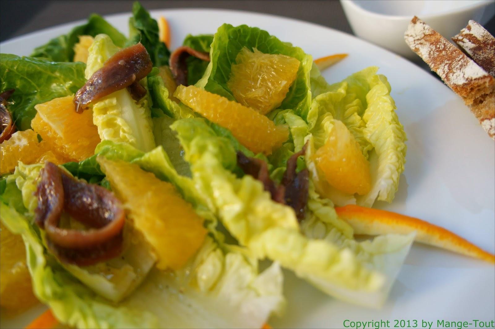 mange tout aber schmegge musses auf den letzten dr cker salat mit sardellen und orangen. Black Bedroom Furniture Sets. Home Design Ideas