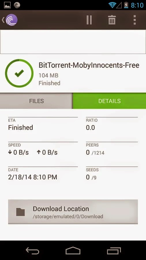 BitTorrent® PRO - Torrent Downloader v2.56