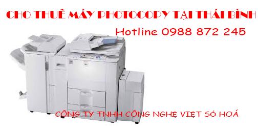 cho thue may photocopy thai binh
