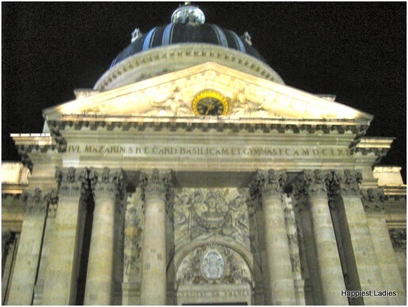 Institut de France tours paris
