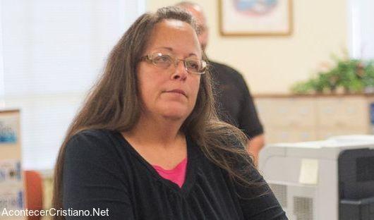 Secretaria cristiana Kim Davis