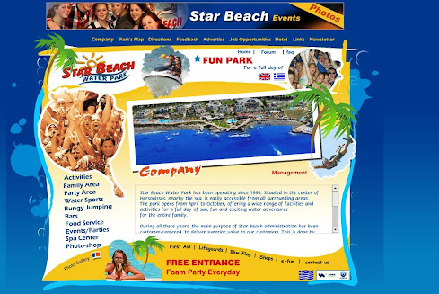 Welcome to Star Beach Water Park