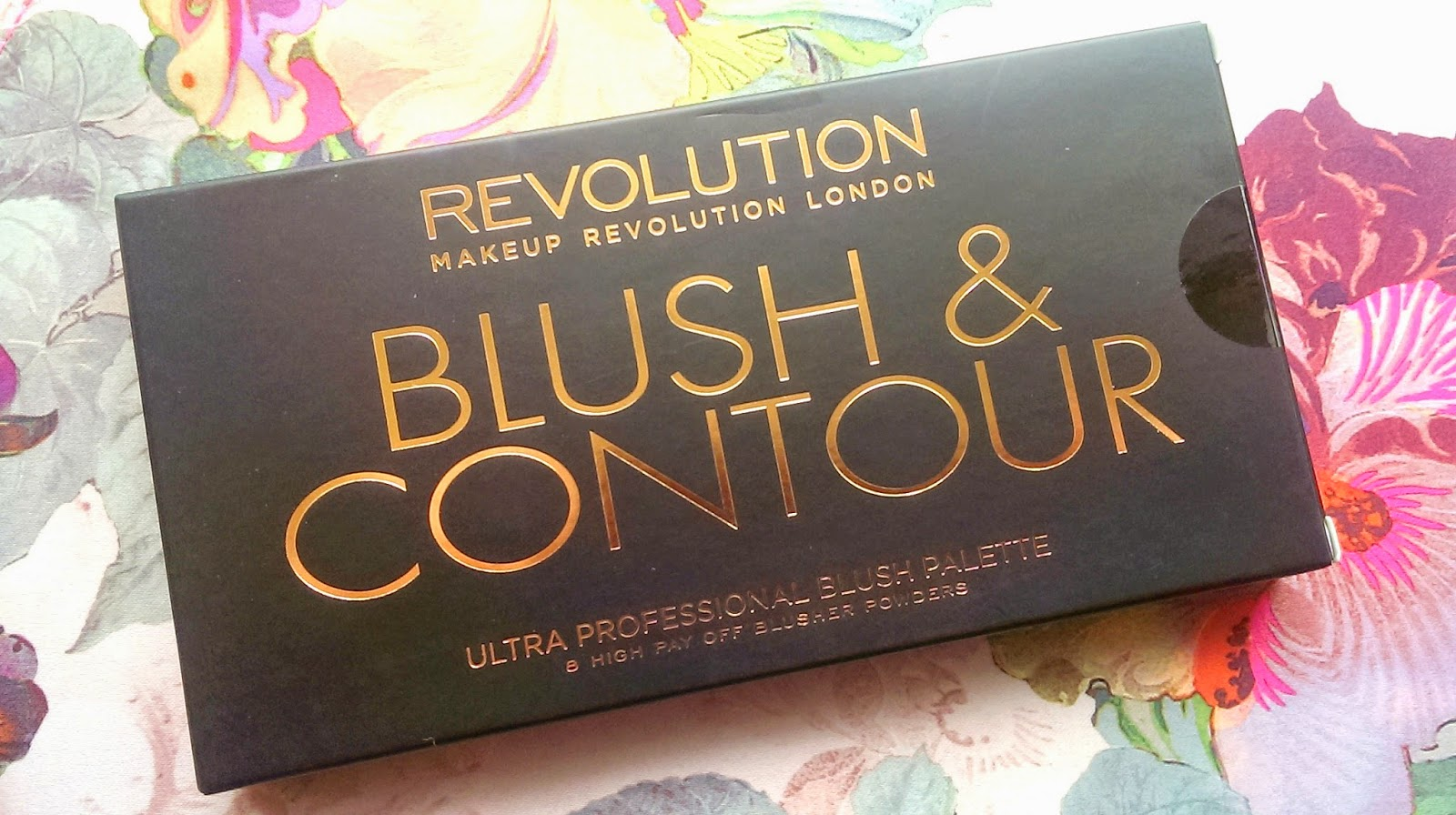 Makeup Revolution Sugar and Spice Blush & Contour Palette