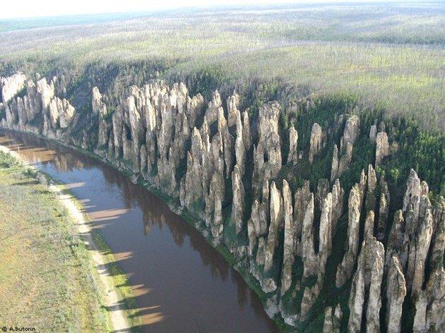Pilar Lena, Sakha (Yakutia) Republic, Rusia Siberia
