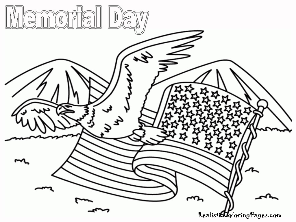 Coloring Pages For Remembrance Day : Memorial day coloring pages realistic