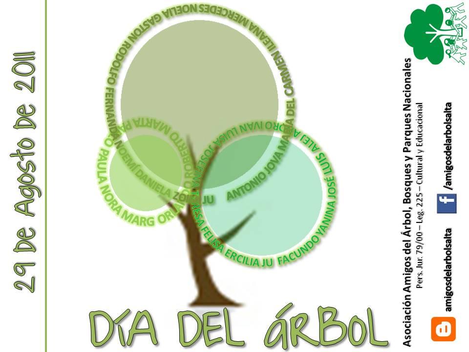 Asociaci n amigos del arbol bosques y parques nacionales for Dia del arbol 01 de septiembre