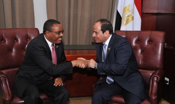 تفاصيل أجتماع ساعه ونصف بين الرئيس السيسي ووزير الري