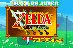 The Legend of Zelda A Link to the Past y Four Sword [GBA] [ESP] [MG]
