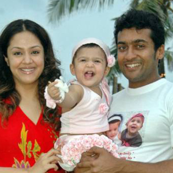 Actor Surya Family Photos
