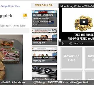 Cara Memodif Widget Populer Post Di Blog