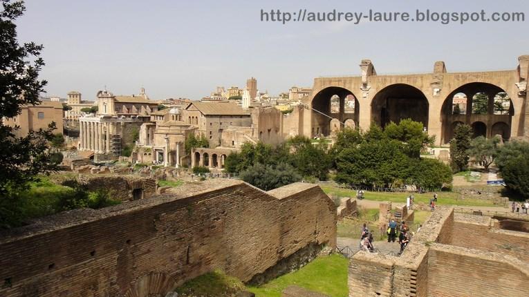ruines forum romain
