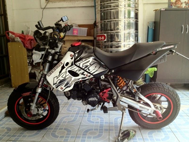 Modifikasi Motor Kawasaki KSR 110 Terbaru