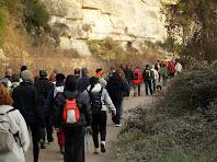La caminada segueix paral·lela al Canal de la Mina