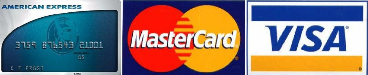 visa mastercard amex discover logo. including MasterCard, Visa