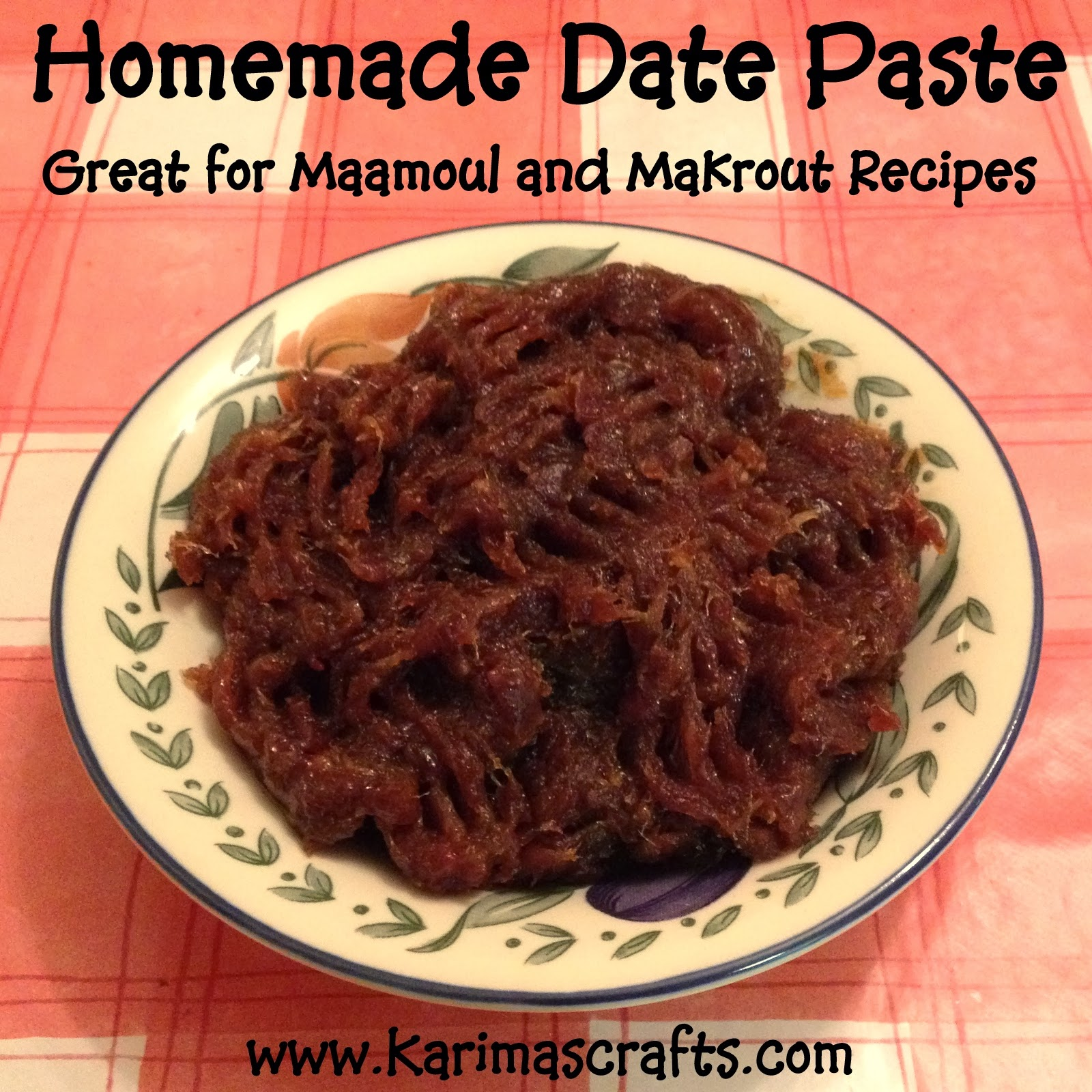 date paste recipe maamoul makrout muslim blog