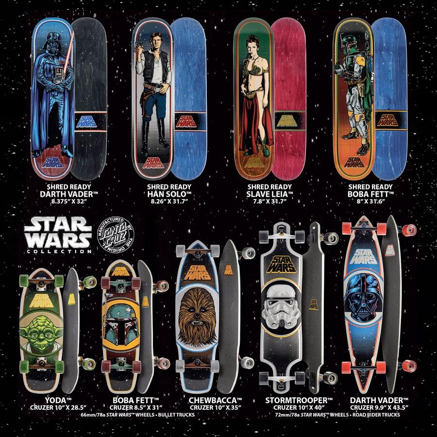 9aeddffa2e04a0 Santa Cruz x Star Wars Boards - Campus Mercante