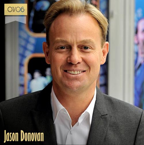 1 de junio | Jason Donovan - @JDonOfficial | Info + vídeos