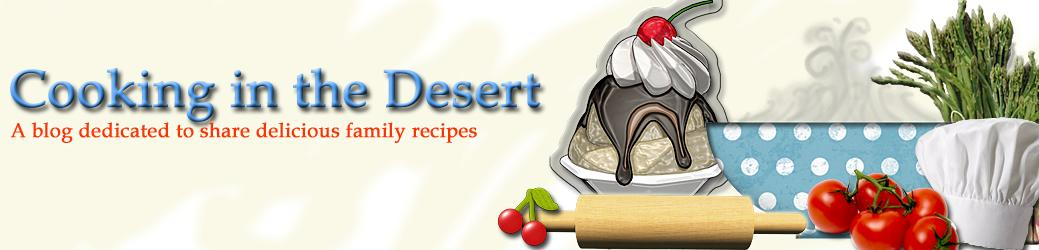 Cooking in the Desert