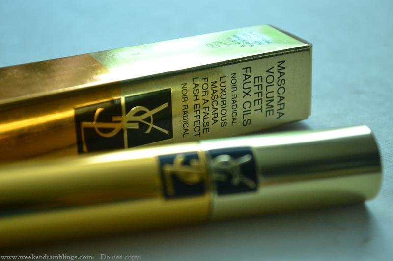 ysl mascara false lash effect volumizing faux cils effet noir radical review eotd swatch