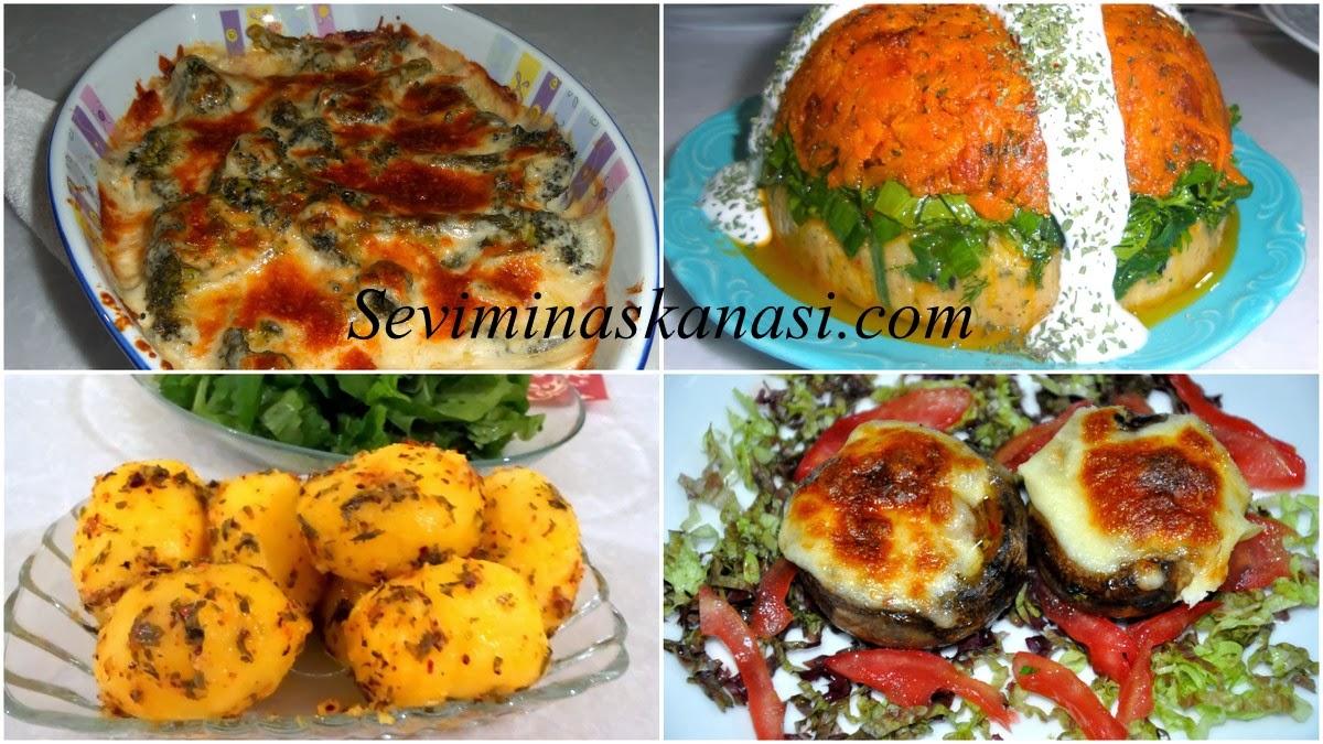 Diyet Yemekleri Özel 6 Çeşit Tarif