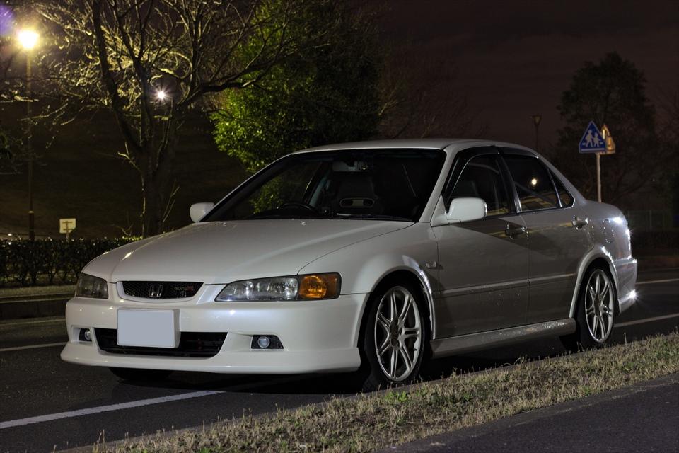 Honda Accord, Euro-R, VTEC is kicking in, japoński sedan, JDM, modyfikacje, tuning, fotki, biała