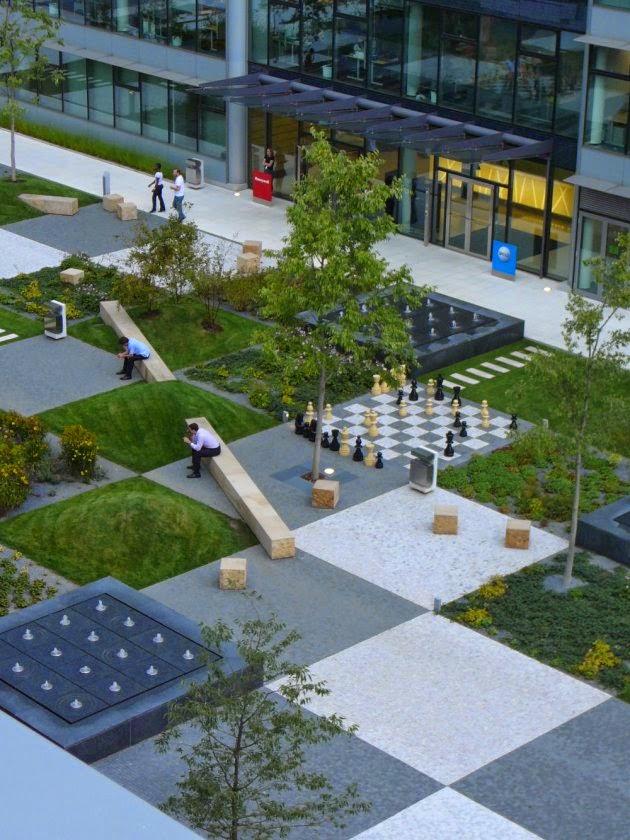 modern landscaping ciglermarani park design