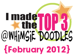 Top 3 at Whimsie Doodles!