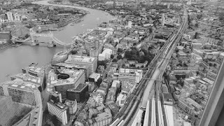 The view from The Shard London