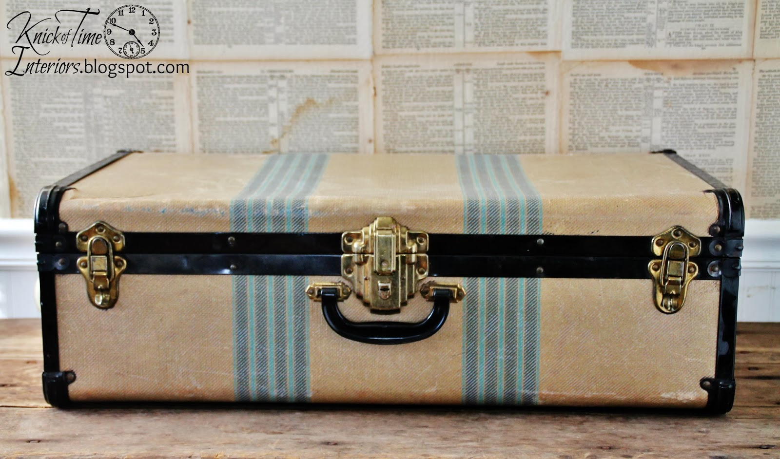 Antique Suitcase available from Knick of Time
