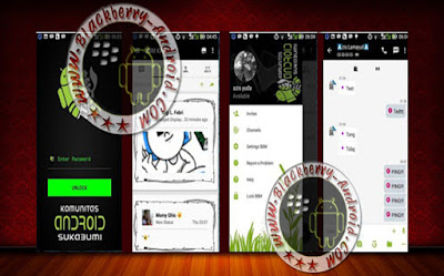 BBM2 Mod Komunitas Android Sukabumi Tema Hybrid Terbaru v2.10.0.31 Apk
