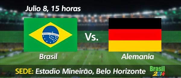 Mirofutbol.com - Brasil vs Alemania Semifinal