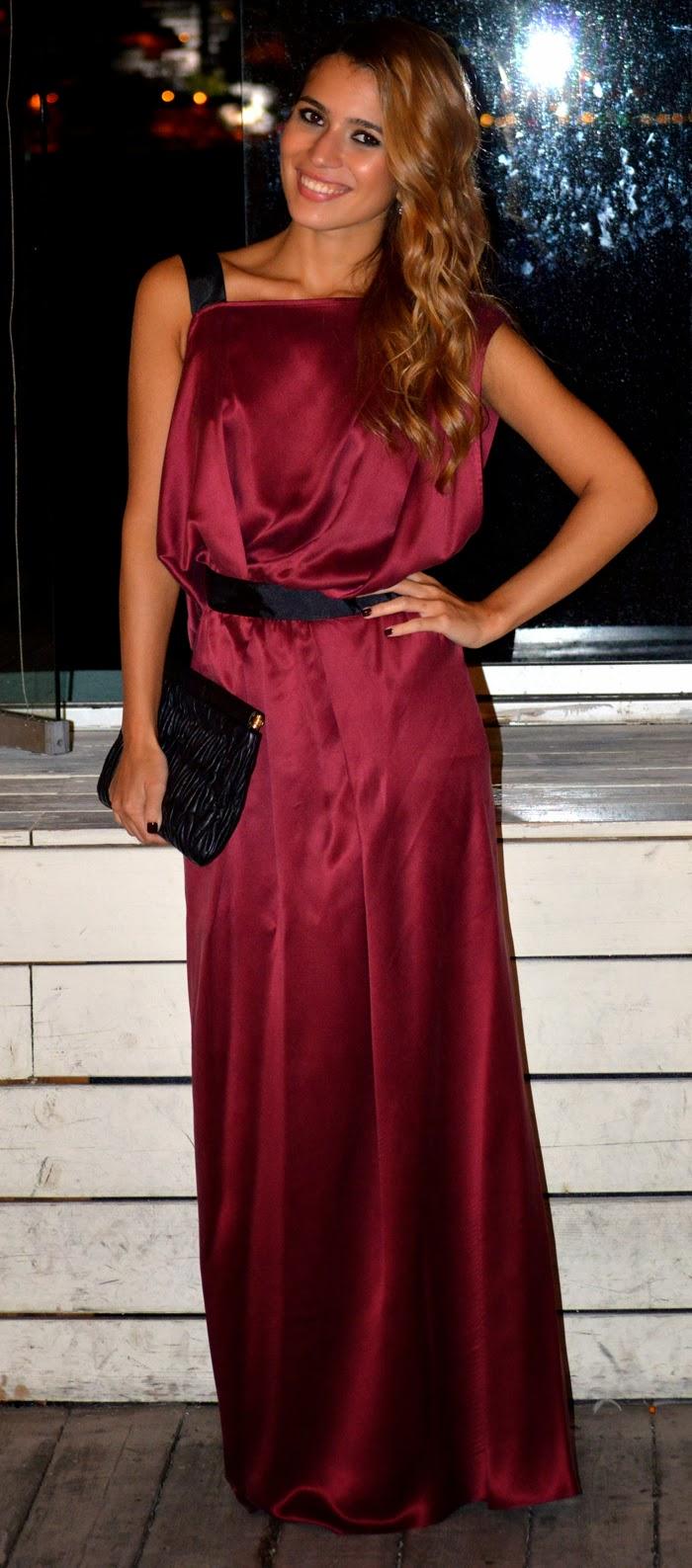 Roman abiye elbise