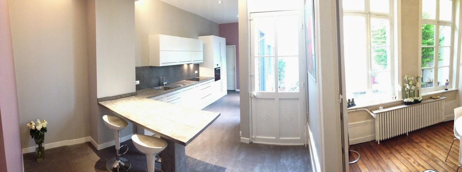 Jacques lenain architecte lille: renovation d'une maison a douai