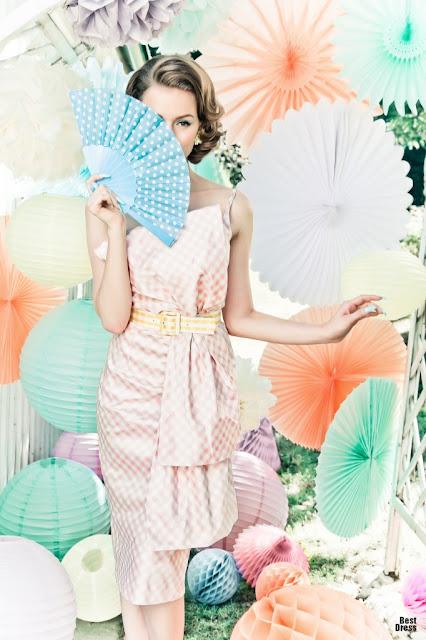 Vestidos de moda Vintage
