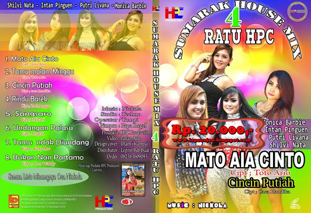 4 Ratu HPC - Mato Aia Cinto (Album Sumarak Housemix)